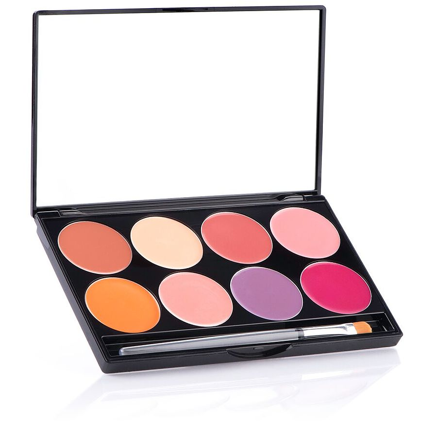 CHEEK Cream 8 Colour Palette - 104N-PC - Image 1