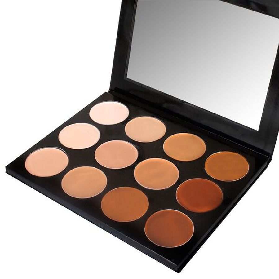 Celebre Pro HD Make-Up 12 Color Portable Palette - Image 1