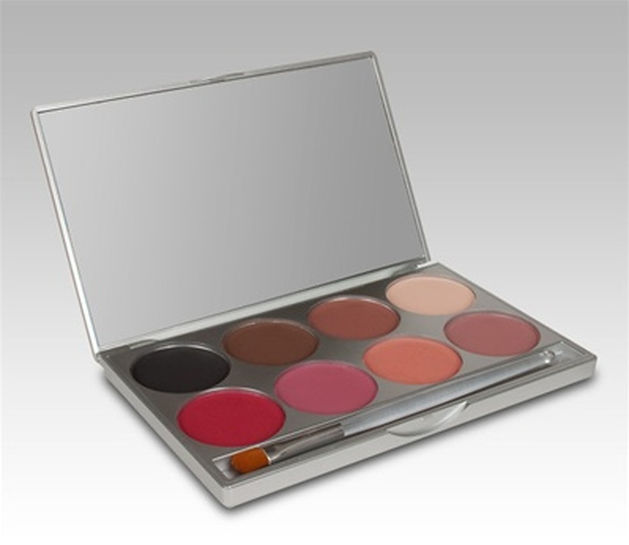 CELEBRE Pressed Powder E.Y.E and Cheek 8 Colour Palette - Image 1