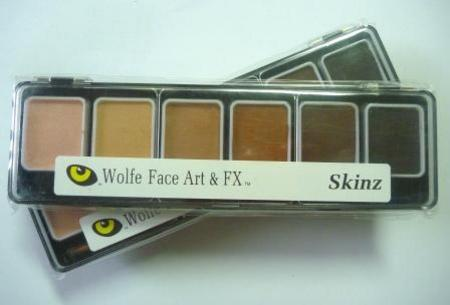 6 Skinz Colour Face Paint Appetizer ONLY 2 LEFT - Image 1
