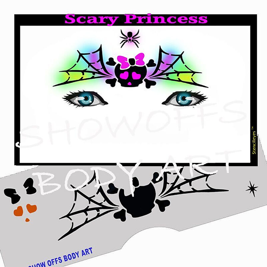STENCIL EYES - Scary Princess 76SE - Image 1