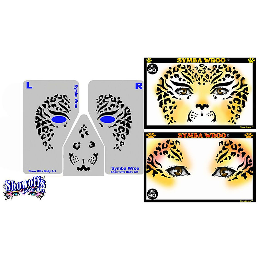 STENCIL EYES - Symba Wroo 90SE - ONLY 1 LEFT - Image 1