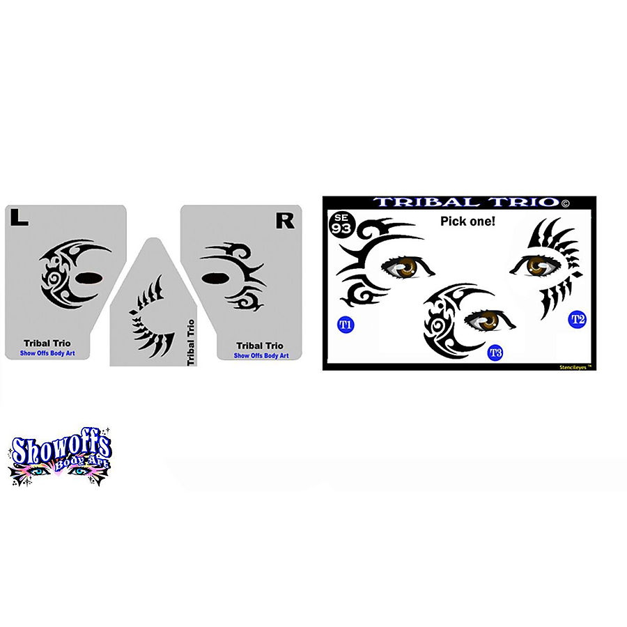 STENCIL EYES - Tribal Trio 93SE - ONLY 1 LEFT - Image 1