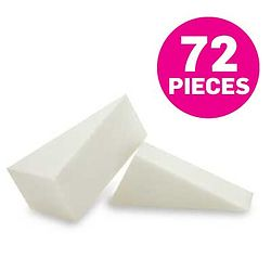 more on Non-Latex Foam Sponges - 72 Wedges - 121L-DZ