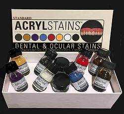 more on AcrylStains 15mL - Shade Yellow - AS-SY - DO NOT USE IN MOUTH