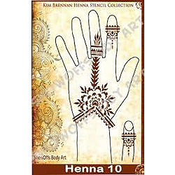 more on Henna Stencil - Haath Phool Jewellery - HENNA-10
