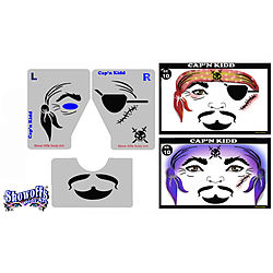 more on STENCIL EYES - Capn Kidd 10SE - ONLY 1 LEFT