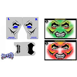 more on STENCIL EYES - Grouchy 25SE - ONLY 1 LEFT