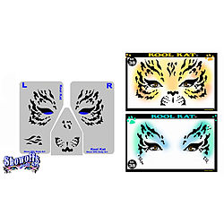 more on STENCIL EYES - Kool Kat - Child Size 38SE