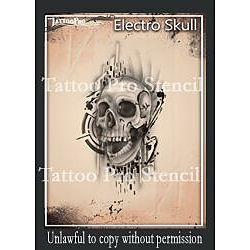 more on Tattoo Pro - Electro Skull