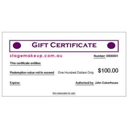 more on $100.00 GIFT VOUCHER