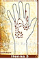 Photo of Henna Stencil - Flower Swag - HENNA-3 - 2 LEFT