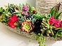 more on Sunshine Succulents - Rustic -look -table -runner -60cm -