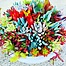 Photo of Sunshine Succulents -splash -of -colour- white -wok -bowls -23cm -