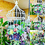 more on Sunshine Succulents-charcoal- 35cm vintage birdcage full of succulents -