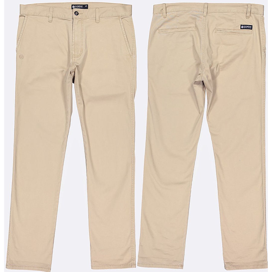 Element Sawyer Mens Pant Desert Khaki - Image 1