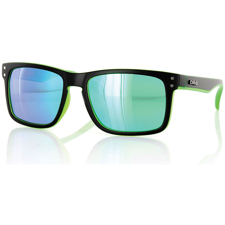 Carve Eyewear Goblin Matt Black Green Revo Polarised Sunglasses