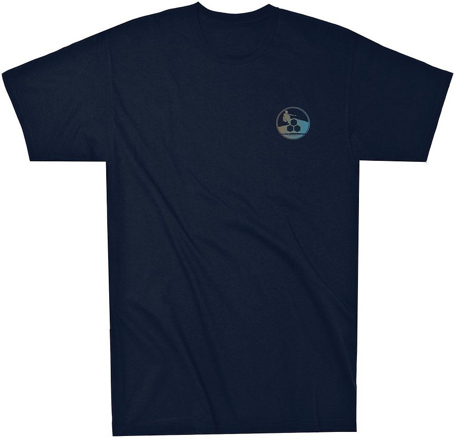 Channel Islands Mens Davy Navy SS Tee