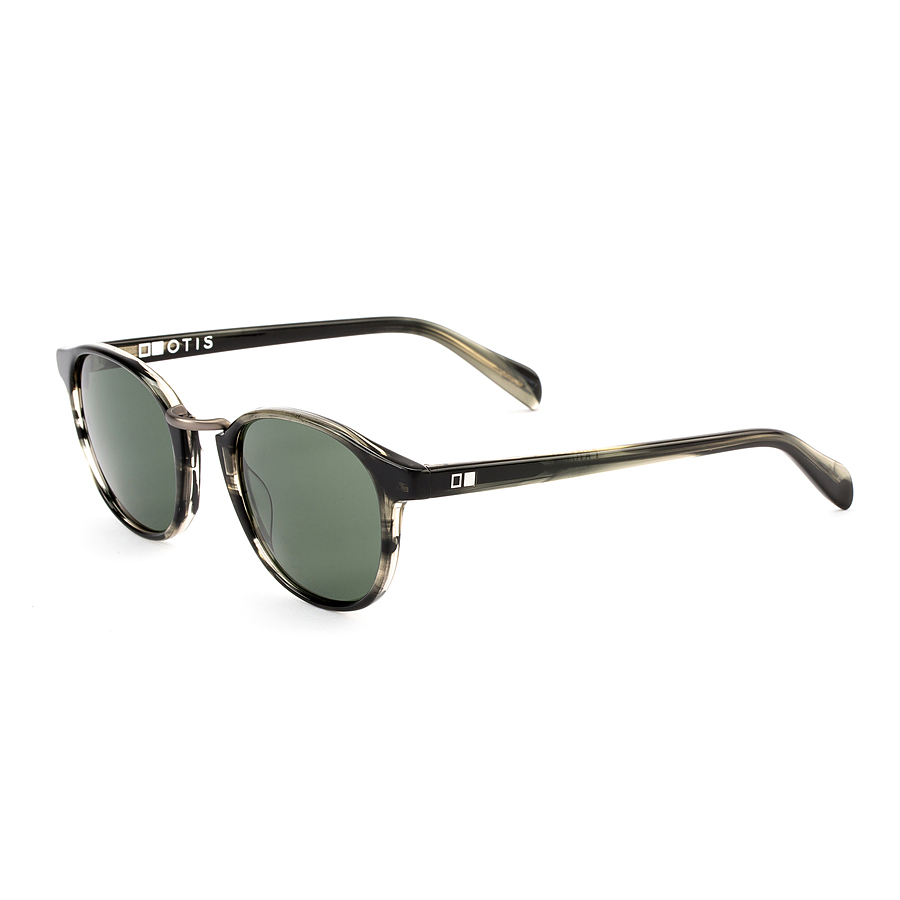 Otis A Day Late Ebonywood Grey Sunglasses