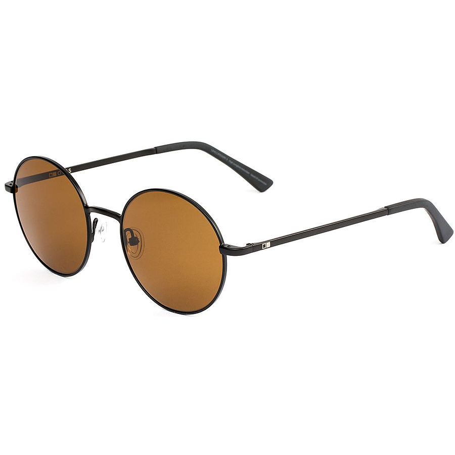 Otis Winston Matte Black Brown Sunglasses - Image 1