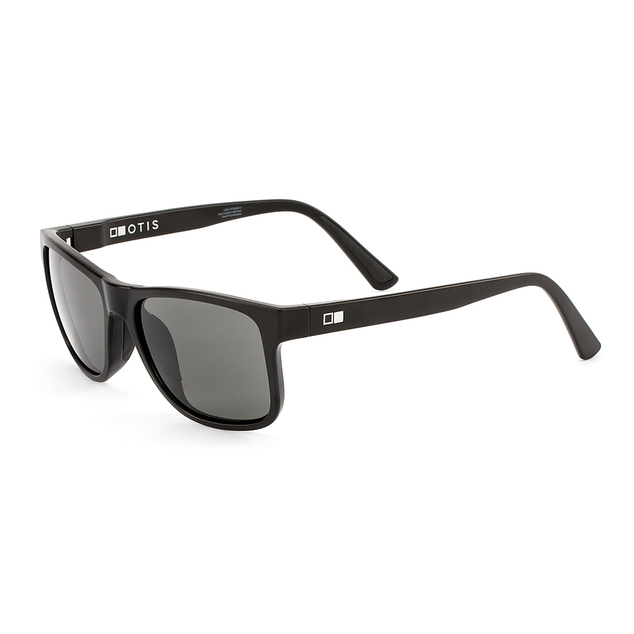 Otis Casa Bay Matte Black L.I.T Polar Grey Sunglasses - Image 1