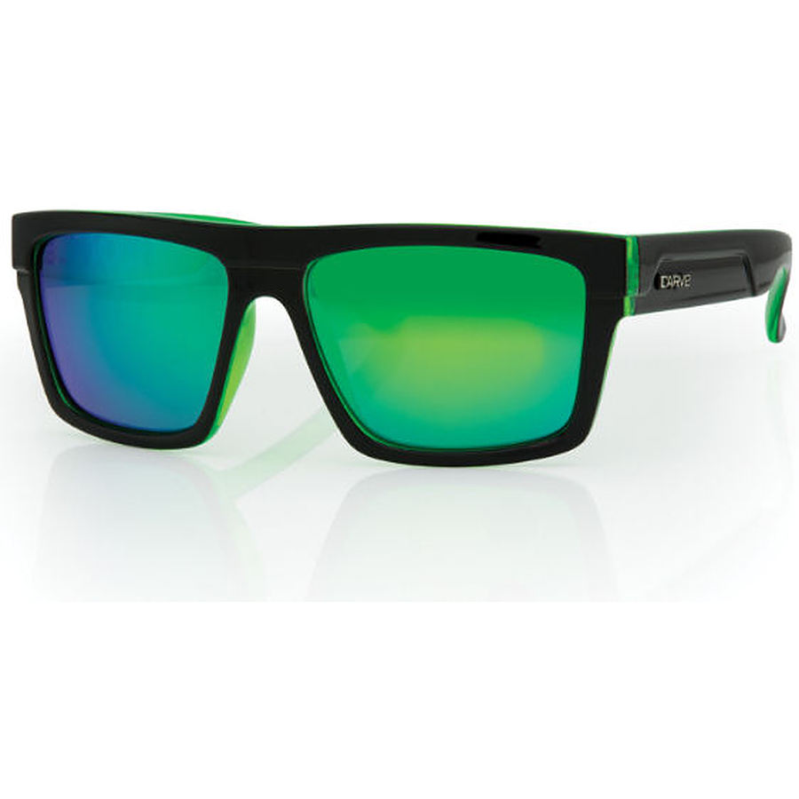 fc390f2fc08b9 Carve Eyewear Volley Black And Clear Blue Revo Polarised Sunglasses