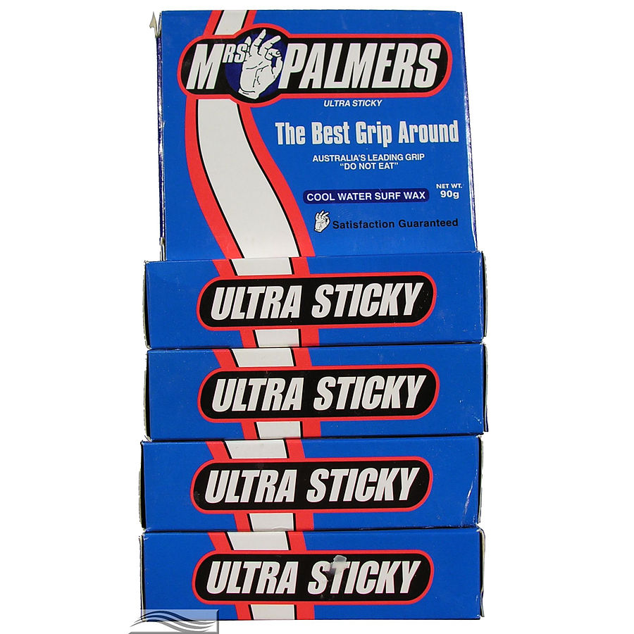 Mrs Palmers Cool Surf Wax 5 Pack