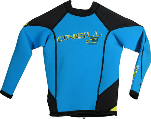 Oneill Youth HyperFreak LS Crew 1.5mm Blue Yellow