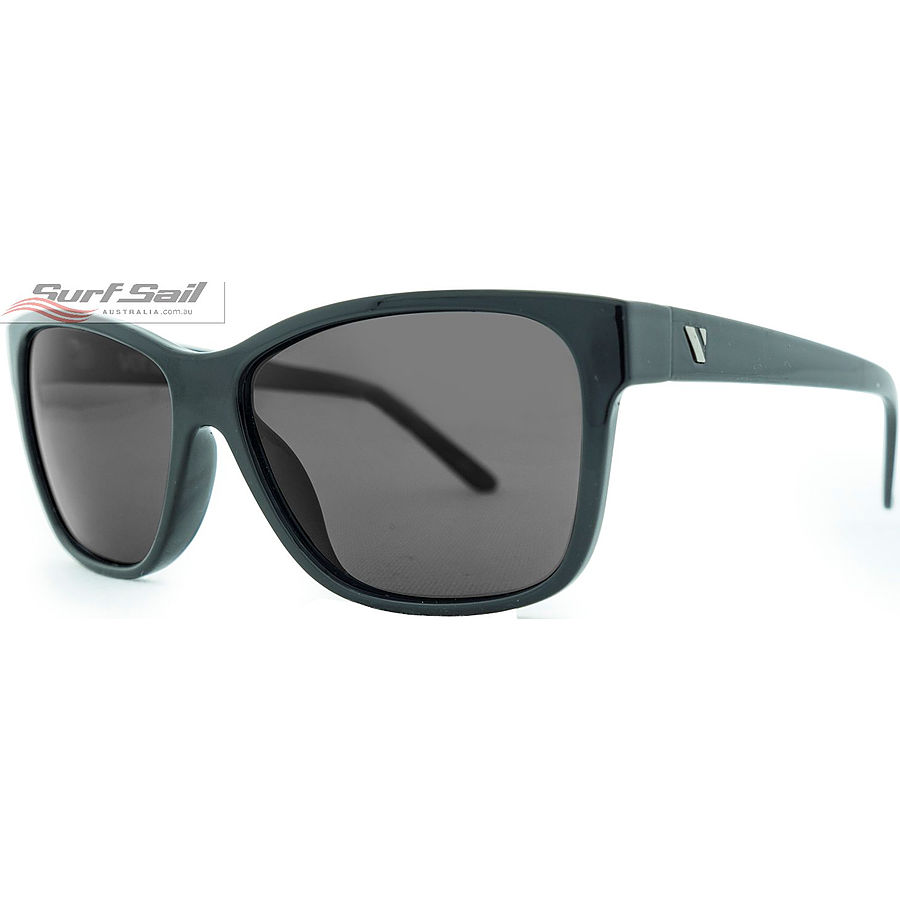 Venture Eyewear Oahu Gloss Black Smoke Polarised Sunglasses - Image 1