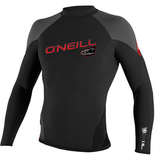 Oneill Thinskins 1.5mm Hyperfreak Mens L S Red