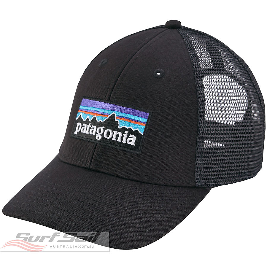 Patagonia P-6 LoPro Low Crown Men's Trucker Cap Black