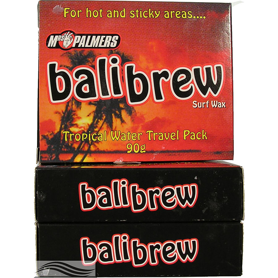 Mrs Palmers Bali Brew Surf Wax 3 Pack
