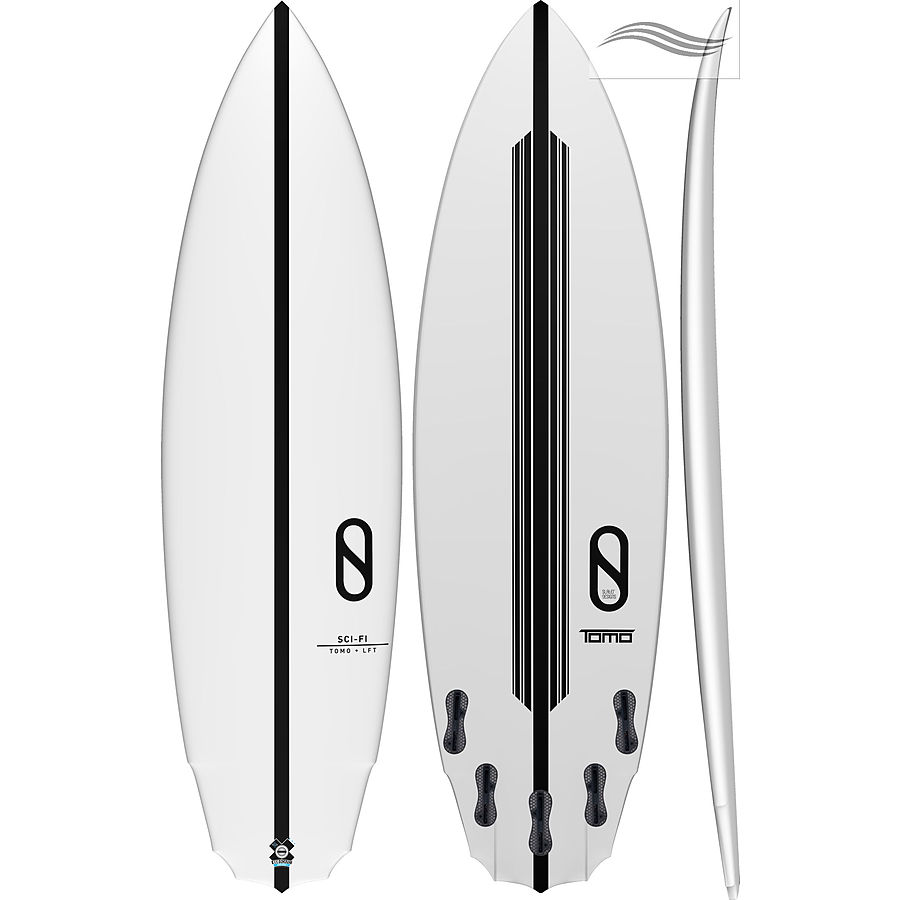 Firewire Slater Sci Fi LFT Tech 5 ft 10 inches Futures - Image 1