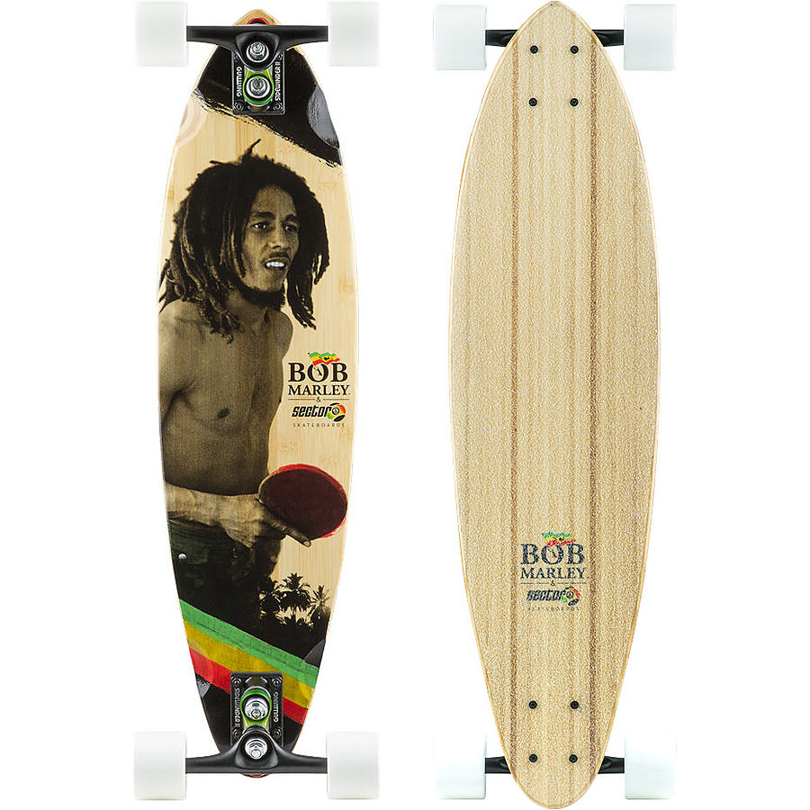 Sector9 Bob Marley Series Small Axe Bamboo Complete Skateboard - Image 1