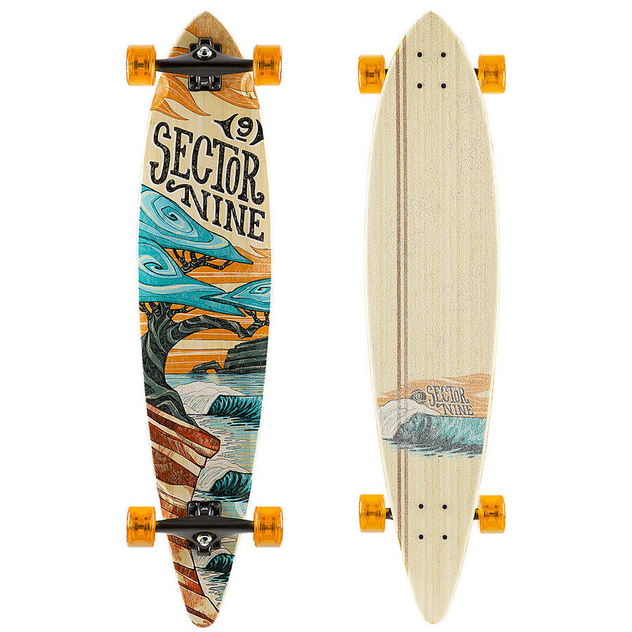 Sector9 Bonsai Bamboo Complete Skateboard