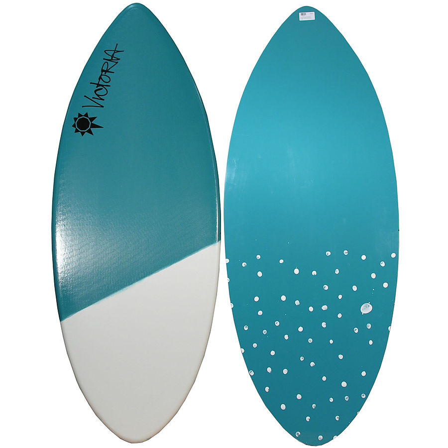 Victoria skimboards teal white tail large skimboard for Skimboard template