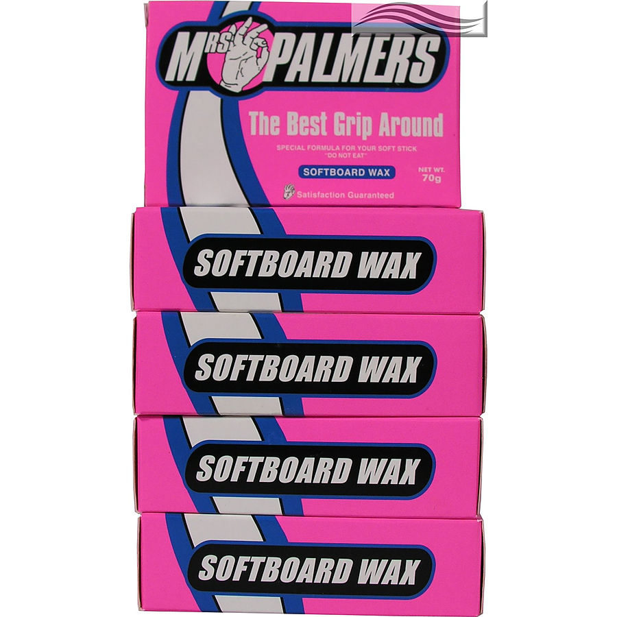 Mrs Palmers Softboard Surf Wax 5 pack - Image 1