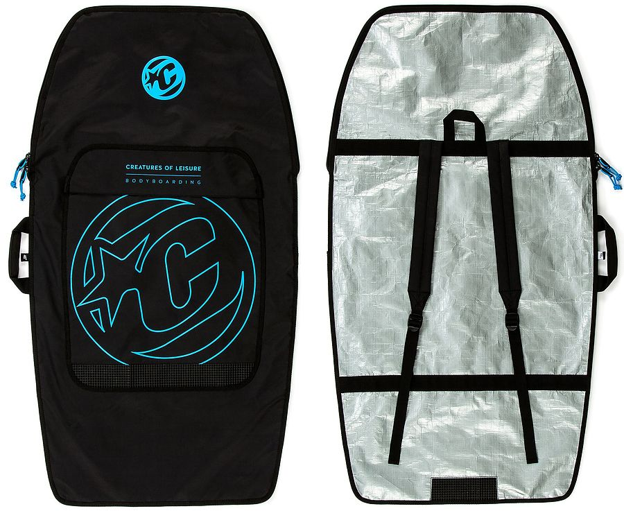 Creatures of Leisure Bodyboard Day Use Cover Black Cyan