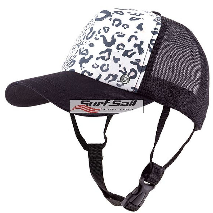 Ocean And Earth Ladies Kuta Mesh Trucker Surf Hat White - Image 1