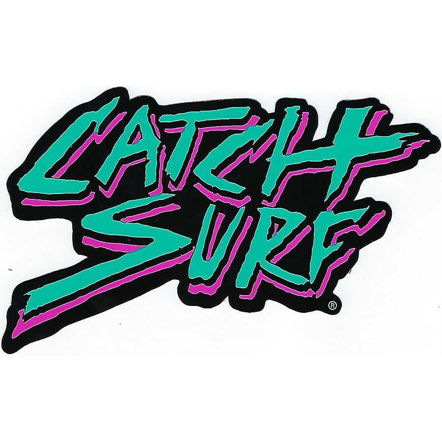 Catch Surf Tropical Logo Sticker