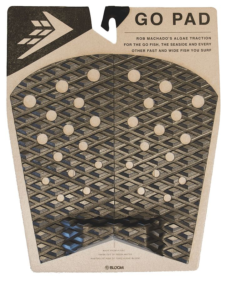 Firewire Go Pad Black Charcoal Traction Pad - Image 1