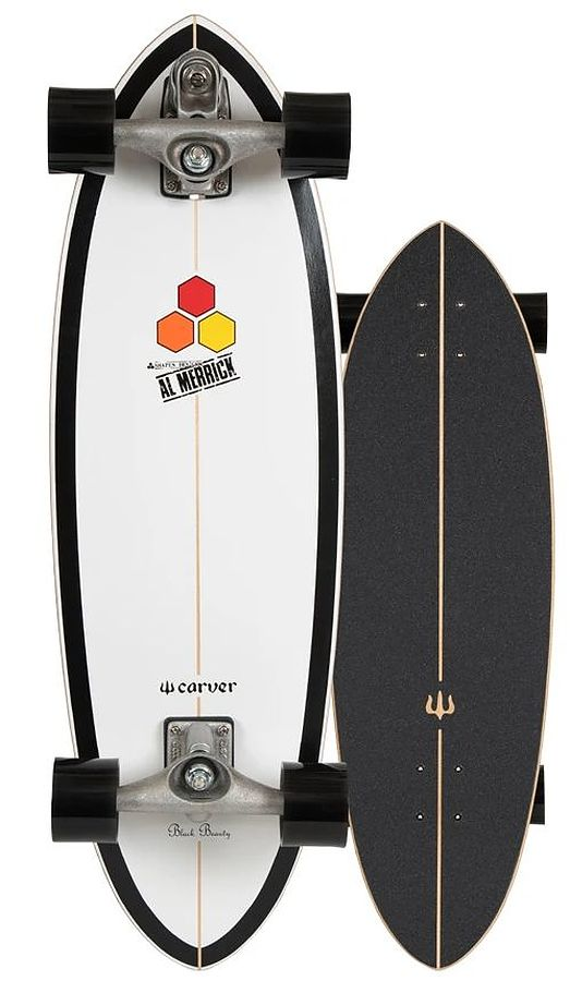 Carver CI Black Beauty Raw C7 Complete Skateboard