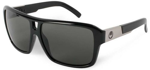 Dragon Jam Jet Grey Sunglasses