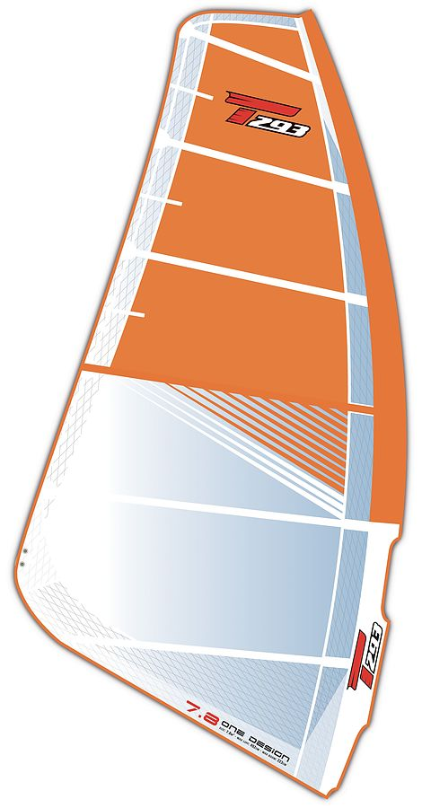 Bic Techno T293 ONE DESIGN 7.8 Sail Only