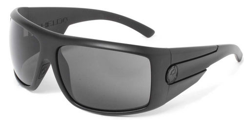 Dragon Shield Matte Stealth Grey Polarised Sunglasses - Image 1