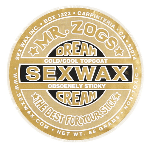 Mr Zogs Sex Wax Dreamcream Topcoat Gold - Image 1