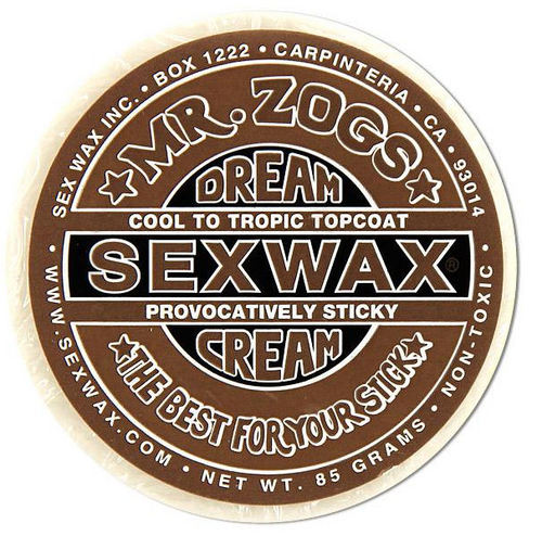 Mr Zogs Sex Wax Dreamcream Topcoat Bronze