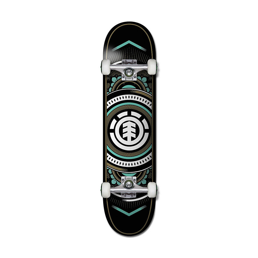 Element Hatched Complete Skateboard - Image 1