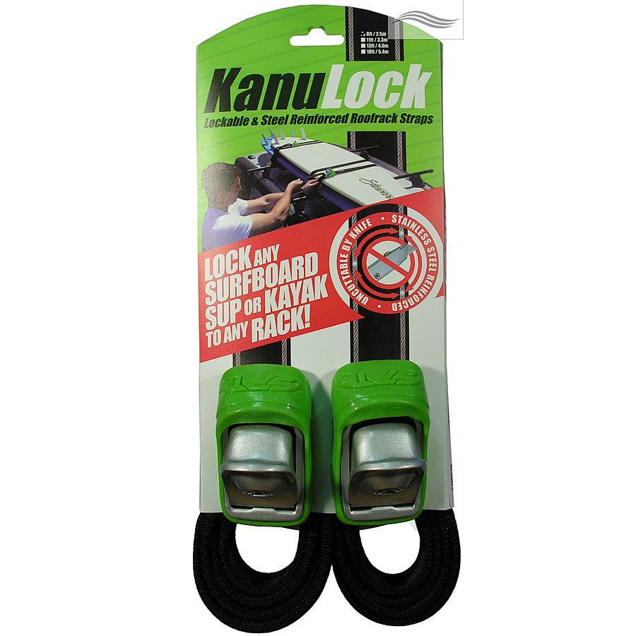 KanuLock Lockable Tie Downs 2.5m - Image 1