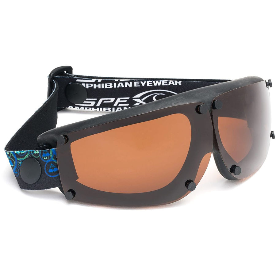 Spex Amphibian Black Polarised Sports Sunglasses